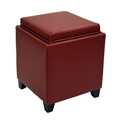 Armen Living Contemporary Storage Ottoman by