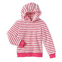Girls 4-7 Jumping Beans® Striped Pullover Hoodie