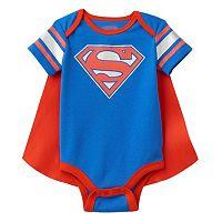 Baby Boy Superman Bodysuit & Cape Set