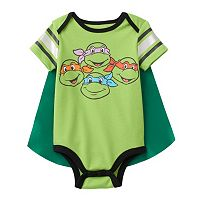 Baby Boy Teenage Mutant Ninja Turtles Bodysuit & Cape Set