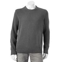 Big & Tall Croft & Barrow® Classic-Fit 5GG Crewneck Sweater