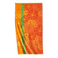 Celebrate Summer Together Citrus Beach Towel