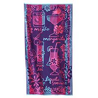 Celebrate Summer Together Drinks Beach Towel
