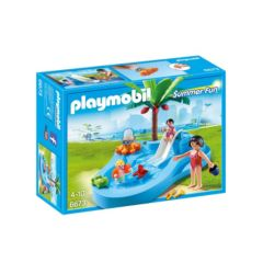 Playmobil Summer Fun Baby Pool & Slide Set - 6673