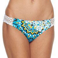 Women's Apt. 9® Printed Crochet Hipster Bikini Bottoms