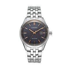 Citizen Eco-Drive Men's Sapphire Stainless Steel Watch BM7251-53H