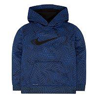 Boys 4-7 Nike Therma-FIT Fleece Sublimated Snakeskin Hoodie