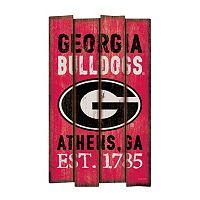 Legacy Athletic Georgia Bulldogs Plank Sign