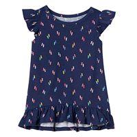 Baby Girl Jumping Beans® Print Ruffle-Hem Tunic