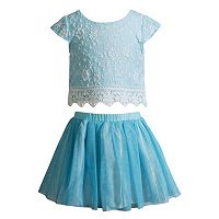 Girls 4-6x Youngland Knit Top & Skirt Set