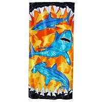 Jumping Beans Shark Beach Towel