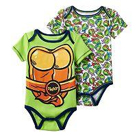Baby Boy Teenage Mutant Ninja Turtles 2-Pack Bodysuits