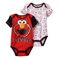 Baby Boy Elmo 2-Pack Bodysuits