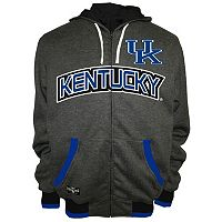 Men's Franchise Club Kentucky Wildcats Power Play Reversible Hooded Jacket