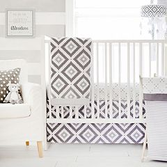 My Baby Sam Imagine Geometric 3-pc. Crib Bedding Set