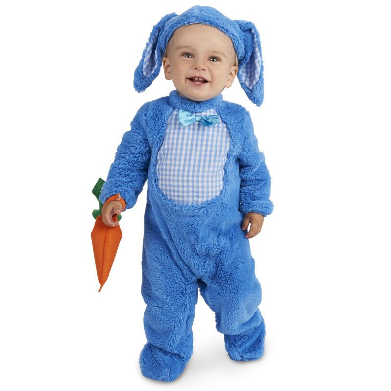Baby Little Blue Bunny Costume, Infant Boy's, Size: 18-24MONTH