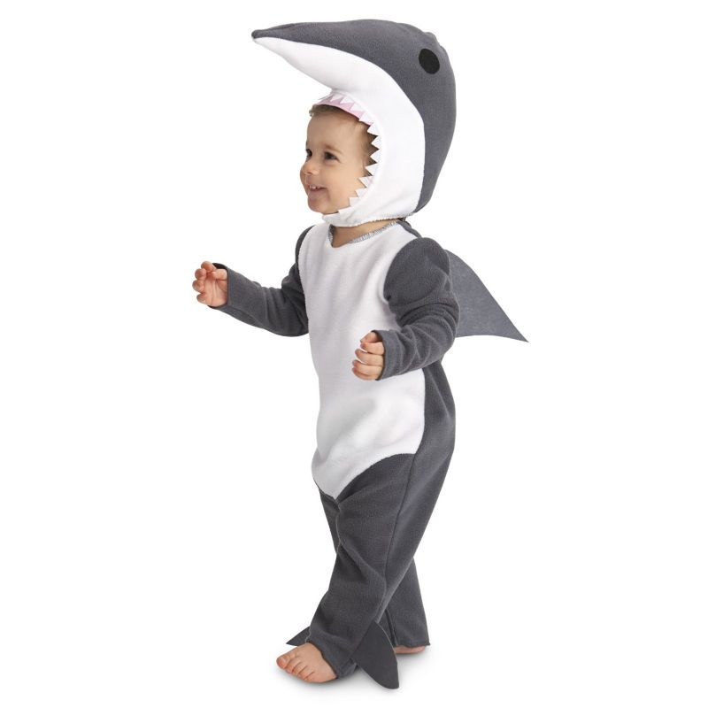 Baby Sly Shark Costume, Infant Boy's, Size: 12-18MONTH, Multicolor