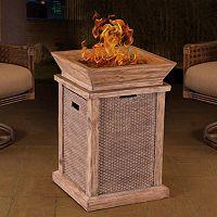 Sunjoy Wausau LP Outdoor Fire Pit
