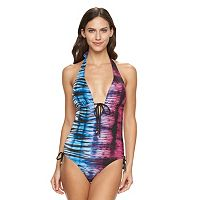Women's Apt. 9® Tie-Dyed One-Piece Swimsuit