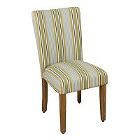 HomePop Striped Parson Dining Chair