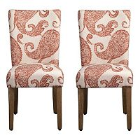 HomePop Parson Dining Chair 2-piece Set