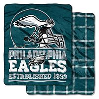 Philadelphia Eagles Home Field Cloud Double-Sided Throw Blanket