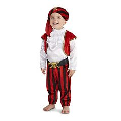 Baby Pirate Commander Costume by