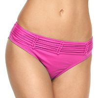 Women's Apt. 9® Solid Strappy Hipster Bikini Bottoms