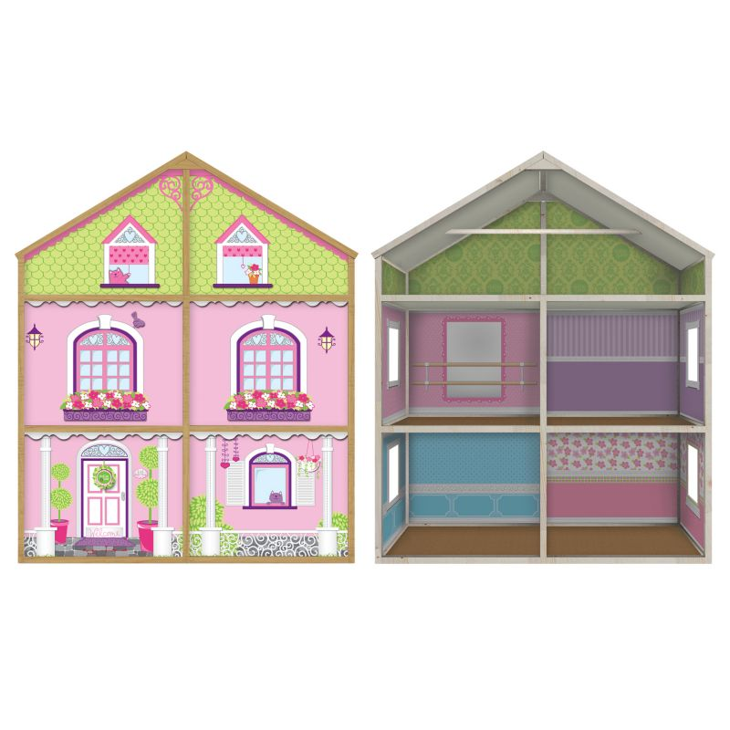 My Girl Dollie & Me Style Dollhouse for 18-in. Dolls, Multicolor