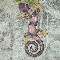 Sunjoy 23-in. Gecko Outdoor Wall Decor