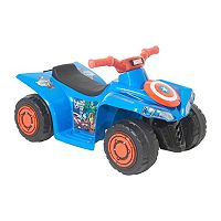 Marvel Avengers 6V Light-up Little Quad Ride-On