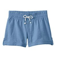 Girls 4-10 Jumping Beans® Slubbed Cuff Shorts