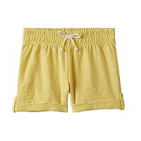 Girls 4-10 Jumping Beans® Slubbed Cuff Shorts