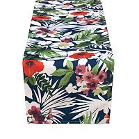 Tommy Bahama Bernini Floral Table Runner - 70
