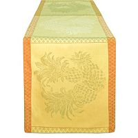 Tommy Bahama Pineapple Jacquard Table Runner - 90