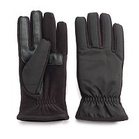 Men's Isotoner Matrix smarTouch THERMAflex Touchscreen Active Gloves