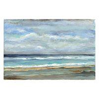Artissimo Seashore I Canvas Wall Art