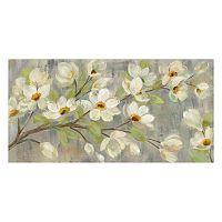 Artissimo April Branch Canvas Wall Art