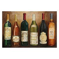 Artissimo And The Winner Is Light Wine Canvas Wall Art