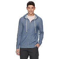 Men's Urban Pipeline Striped Full-Zip Hoodie