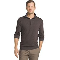 Big & Tall Van Heusen Classic-Fit Quarter-Zip Pullover