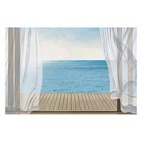Artissimo Blue Breeze Canvas Wall Art