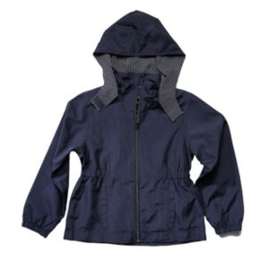 Girls 4-16 French Toast School Uniform Detachable Hood Lightweight Jacket