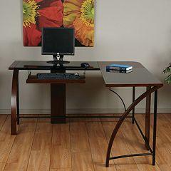 OSP Designs Emette Home Office Corner Desk