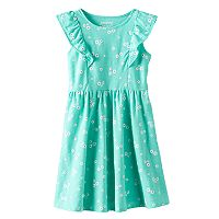 Girls 4-10 Jumping Beans® Flutter Sleeve Dress
