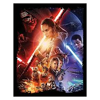 Star Wars: Episode VII The Force Awakens Canvas Wall Art