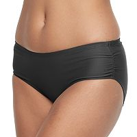 Women's Free Country Ruched Scoop Bikini Bottoms