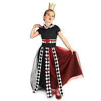 Kids Evil Queen of Hearts Costume