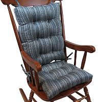The Gripper Stripe Jumbo Rocking Chair Pad 2-pk.