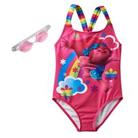 Girls 4-6x DreamWorks Trolls Poppy Racerback One-Piece Swimsuit